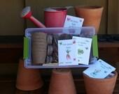 Gardening Kit for Kids, organic seeds, gardening, childrens garden toy, garden tools garden kit for kids seed starting kit outdoor play seed