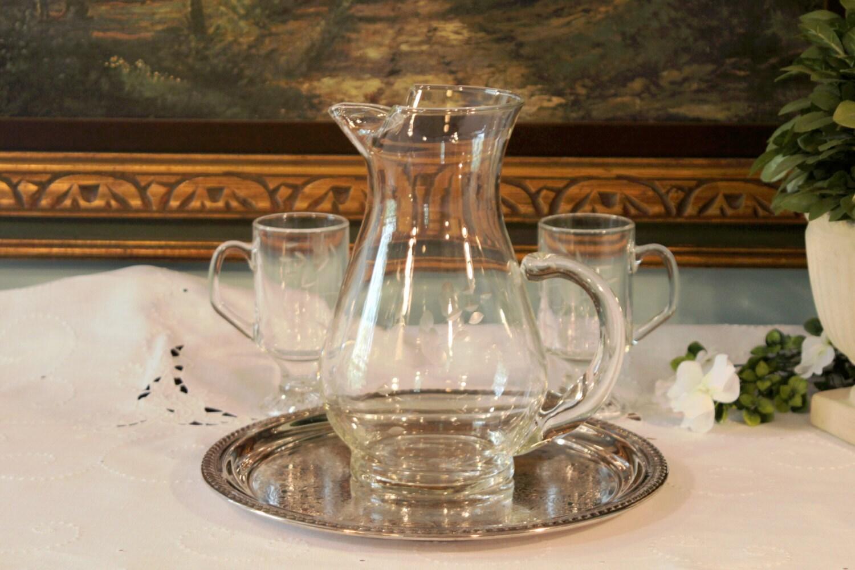 Princess house crystal sheridan silver plate platter for Princess housse