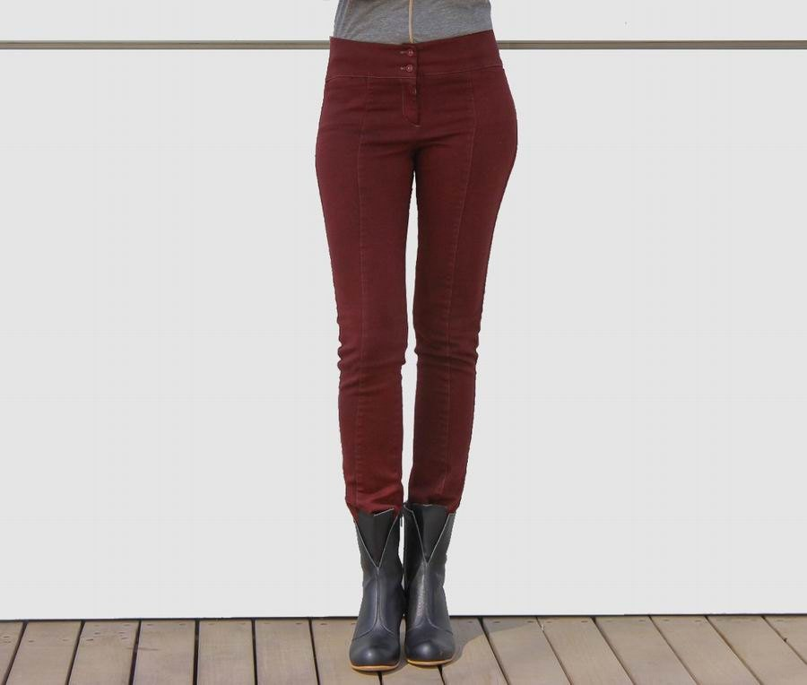 SALE 20% OFF Womens pants Womens trousers Maroon by NATAfashion