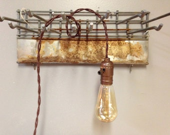 Hanging Pendant Light, Edison Bulb, Industrial farmhouse lighting, hanging light bulb pendants, Kitchen pendant lights