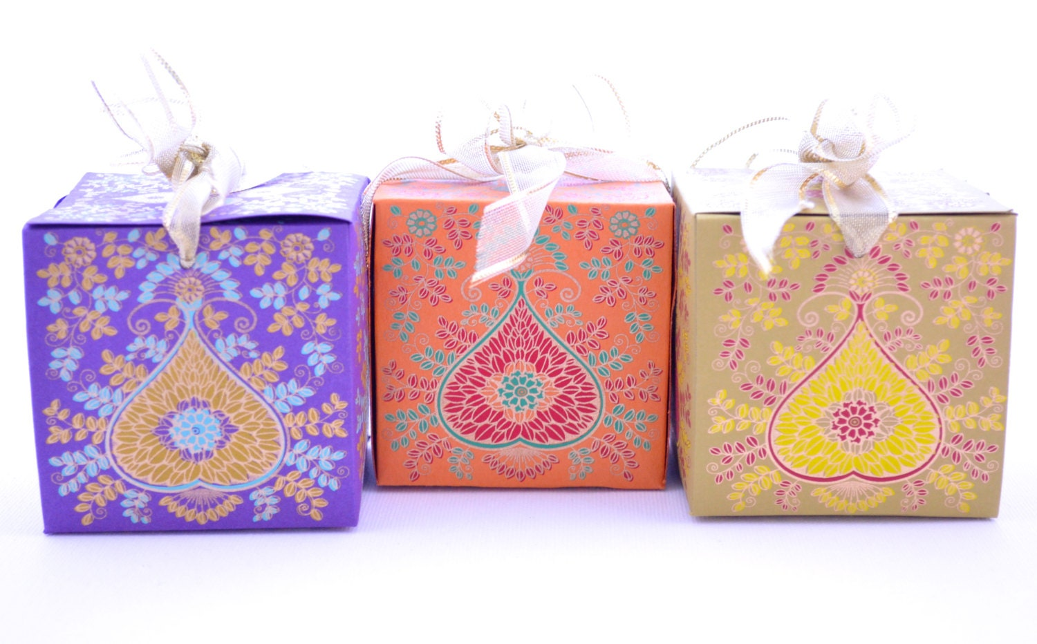 Wedding Gift Boxes: Gift Box With Ribbon Wedding Gift Box Indian Wedding Box