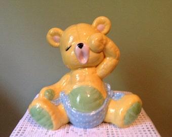 Adorable Sleepy Bear Bank