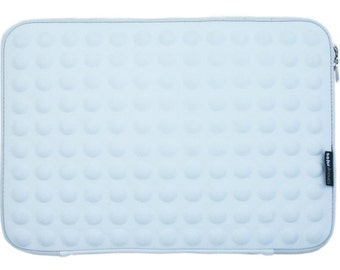 Bubble laptop bag white - macbook 15 inch