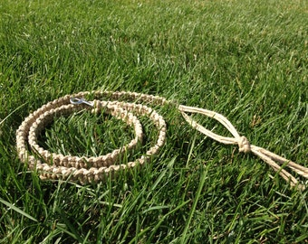 All Natural Hemp Leash