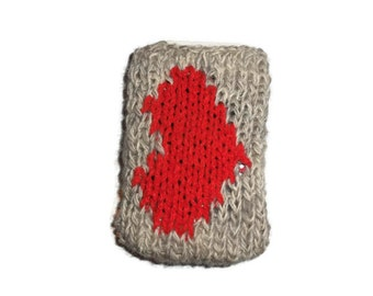 50%OFF, Valentine iphone case, cell phone cover, Red Heart Cozy