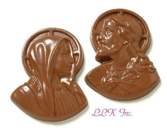 Chocolate Jesus Or Mary, Religious Gifts