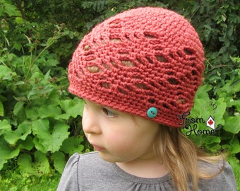 The Ally Beanie - Made to Order, Newborn, Toddler, Child, Adult, Toque, Handmade, Crochet, Hat, Fall, Autumn