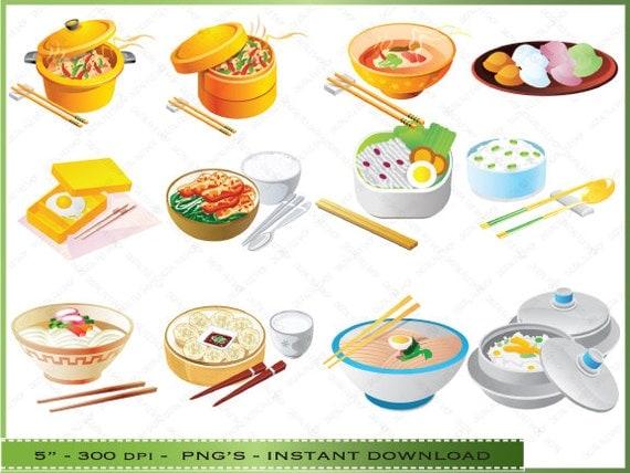 Chinesisches Essen Clipart