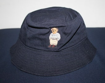 Popular items for bucket on etsy for Polo fishing hat