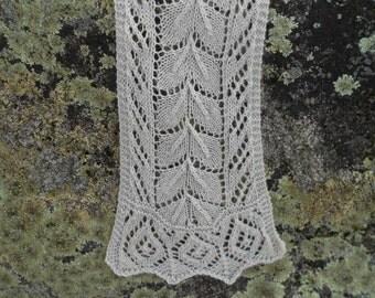 Silver-leaf Scarf