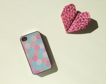 Iphone Case for Iphone 4/4S or Iphone 5/5S - Pastel