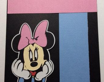 Disney's Minnie Mouse Blank Card