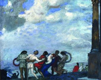 """Franz von Stuck : """"The Dance"""" (c1910) - Giclee Fine Art Print"""