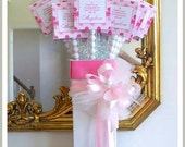 1 Simply Sweet Party in a Box Centerpieces, topper card and box with decor 20.00 each simple assembly no candy