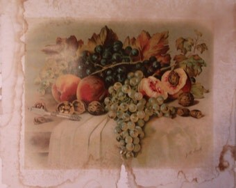 Fruit Still Life by J.R. Smith Artist