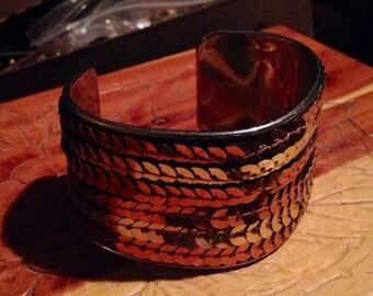 x Vintage Sequin Bracelet