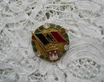 Enamel brooch 1930's