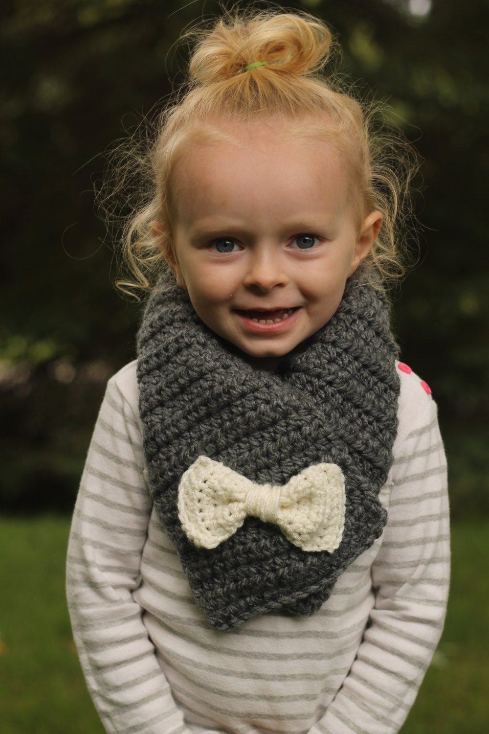 bow scarf toddler bow scarf scarf by littlesunshineshop11