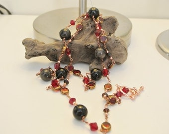 Moroccan Heart Necklace