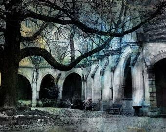 Paris Photography, Gothic Photography, Saint Severin School, Paris Decor, French Decor, French Photography, Paris Fine Art Photography, Art