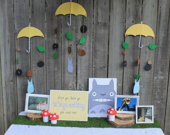My Neighbor Totoro party decorations