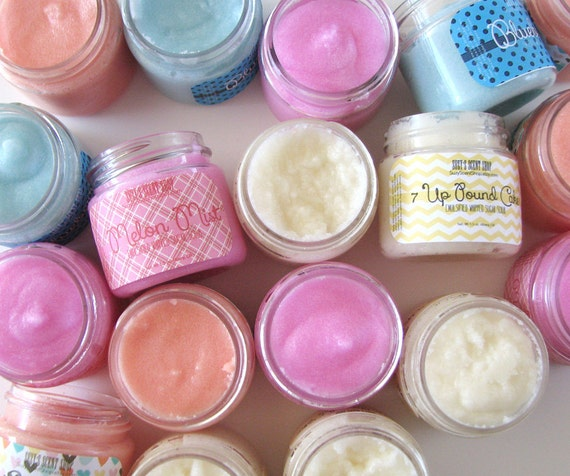 Emulsified Whipped Sugar Scrub - 10 sample sizes