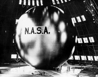 Photograph - 1964 Telecommunications Satellite- Echo 2-  Photo Print .