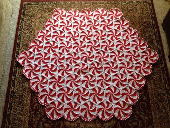 Crochet Pattern For Peppermint Afghan : Crochet Peppermint Afghan