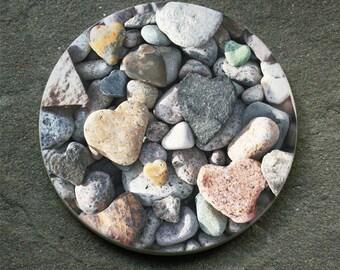 Heart Rocks Coaster