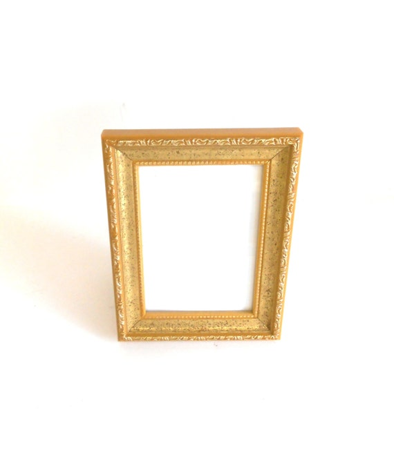 Home Interior Small Gold Picture Frame Ornate By Goldleafgirl