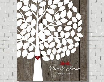 Rustic Wedding Guest Book Wedding Guestbook Alternative, Wedding Signs Guest Book Sign, Wood Guest Tree Wedding Tree, Bridal Shower Gift