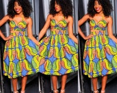 Reserve Lisiting Limited Gorgeous Africa print set