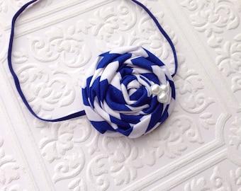 The Blue Betty Headband or Hair Clip