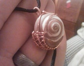 Wire Wrapped Seashell