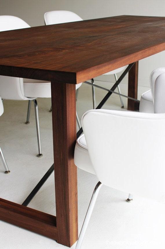 Wood Table, Wood Dining Table, Harvest Table, Wood Furniture, Walnut Table,  Walnut Dining Table, Walnut Furniture, Desk