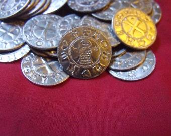 25 Bohemond Crusader coins
