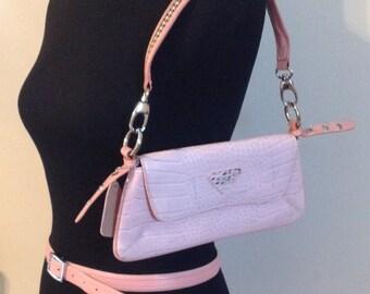 Pink Express Belt with Handbag