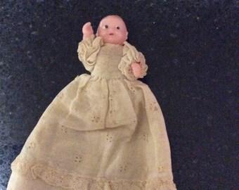 Miniature Vintage Doll