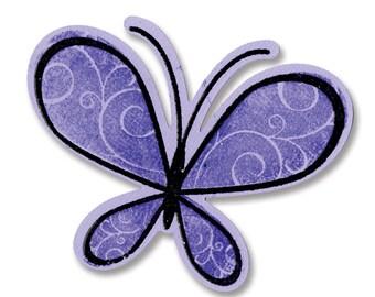 New! Sizzix Framelits Die Set 6PK w/Stamps - Butterflies by Stephanie Barnard (657578)