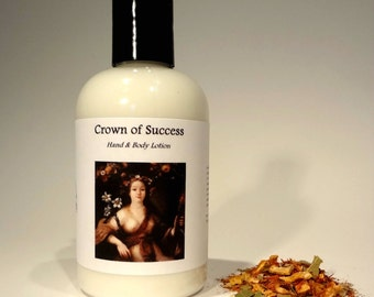 Crown of Success Lotion For Prosperity, Success & Abundance:  Hoodoo, Voodoo, Wicca, Pagan, Conjure