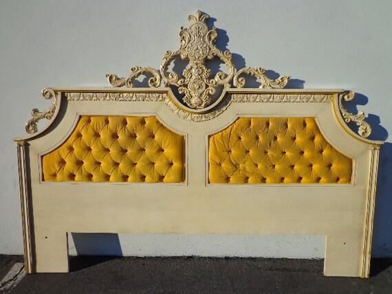 french provincial hollywood glam regency headboard tuft button, Headboard designs