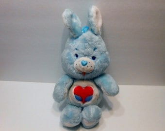 Care Bear Cousin Swift Heart Rabbit made in Korea 1984