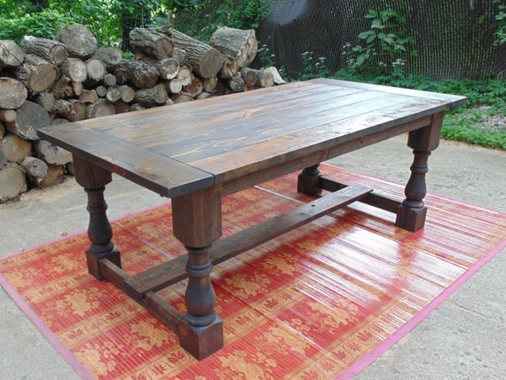 Items Similar To Talbot Dining Table Farmhouse Reclaimed Wood Custom Hand