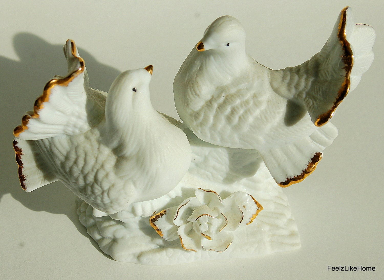 dove wedding cake topper