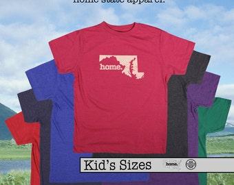 Maryland home tshirt KIDS sizes The Original home tshirt
