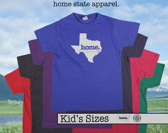 TEXAS home tshirt KIDS sizes The Original home tshirt