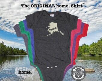 Alaska home Baby Bodysuit