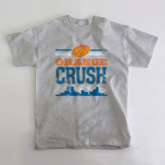 Broncos Orange Crush t Shirt Orange Crush Denver Broncos t