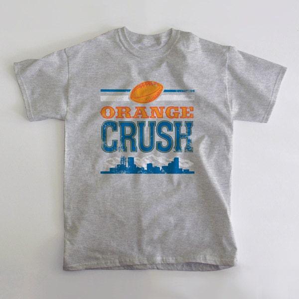 Orange Broncos t Shirt Orange Crush Denver Broncos t