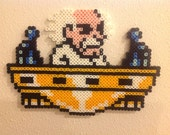 Dr. Wily from Mega Man 2: Perler Bead Sprite